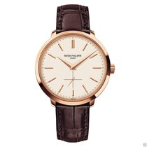 Patek Philippe Mens Calatrava 5123R-001 18K Rose Gold 38mm NEW