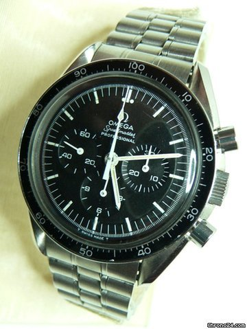 Omega Speedmaster Professional Decimal Bezel