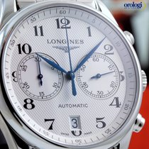 Longines Master Collection Chronograph 40mm Steel on Steel...