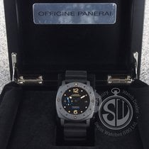 Panerai Pam 616 Luminor Submersible 1950 Carbotech 3 Days...