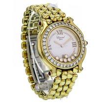 Chopard Happy Sport Yellow Gold White Dial Quartz Women's...