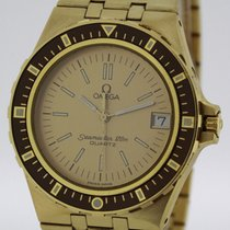 Omega Seamaster 120m solid 18K Yellow Gold Ref. 396.0900 Ultra...