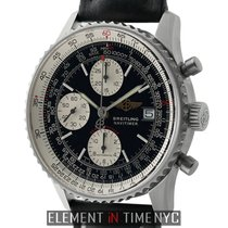 Breitling Navitimer Fighters Chronograph Steel 42mm Black Dial...