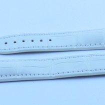 Omega Leder Armband Bracelet 18mm Für Faltschliesse 16mm Kroko...