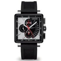 Union Glashütte Averin Chronograph tiefschwarz schwarz-weiß