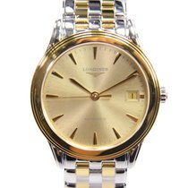 Longines Flagship Pvd Gold Gold Automatic L4.774.3.32.7