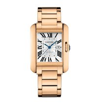 Cartier Tank Anglaise Automatic Ladies Watch Ref W5310003