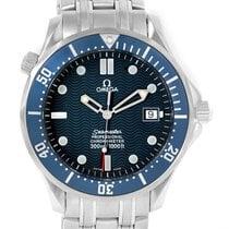 Omega Seamaster 300m James Bond Blue Wave Dial Mens Watch...