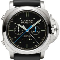 Panerai Luminor 1950 Rattrapante 8 Days Titanio 47mm Men's...