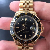 Rolex GMT MASTER Oro Gold Nipple dial