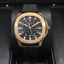 Patek Philippe Aquanaut 38mm Yellow Gold 5065J Discontinued