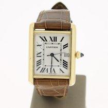 Cartier Tank Must 18K YellowGold WhiteRomanDial (B&P2004)...