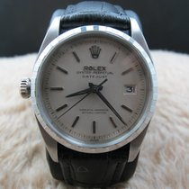 Rolex DATEJUST Left-Handed 6605 with Original White Dial