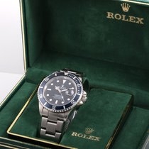 Rolex Vintage 16800 SS Submariner Black w/ RSC Papers & Box
