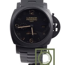 Panerai PAM438 Tuttonero 3d gmt all black ceramic limited NEW