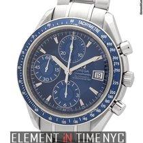 Omega Speedmaster Date Chronograph Blue Dial 40mm Ref. 3212.80.00