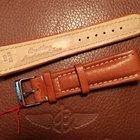 Breitling bracelet veau marron boucle ardillon