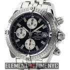 Breitling Chronomat Evolution Stainless Steel Black Dial 44mm...