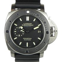 Panerai PAM 389 LUMINOR SUBMERSIBLE 1950 47mm UNIDIRECTIONAL...