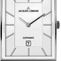 Jacques Lemans York 1-1593E Armbanduhr Mit Keramikelementen