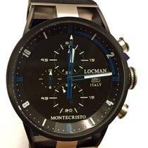 Locman Montecristo Chronograph PVD New Official Warranty