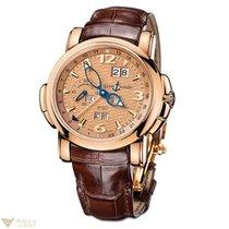 Ulysse Nardin Perpetual Calendars GMT 18k Rose Gold Limited...