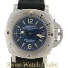 Panerai PAM87 Submersible OP 6541 1000 M Blue Dial Men's...