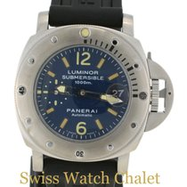 Panerai PAM87 Submersible OP 6541 1000 M Blue Dial Men's...
