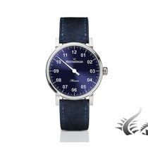 Meistersinger Phanero Automatic Watch, Blue