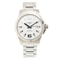 Longines Conquest Stainless Steel Silver Automatic L3.676.4.76.6
