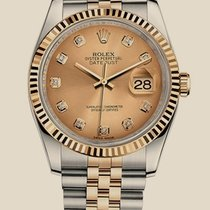 Rolex Oyster Datejust 36mm Steel and Yellow Gold