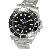 ロレックス (Rolex) Submariner No Date Ceramic Bezel Steel 40MM...