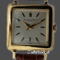 萬國 (IWC) Schaffhausen Vintage Armbanduhr Carré Gelbgold 18kt