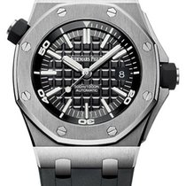 Audemars Piguet Royal Oak Offshore Diver Black Dial 15710ST.OO...