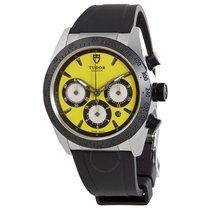 Tudor Fastrider Chrono Yellow Dial Automatic Men's Watch