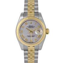 Rolex Datejust Ladies Steel & Gold, Grey Dial, Ref: 179173