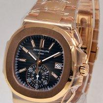Patek Philippe Nautilus Chronograph Watch 5980/1R 18k Rose...