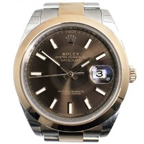 Rolex Oyster Perpetual Datejust 41 Steel & Everose Gold...