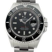 Rolex Sea-Dweller 4000ft Anniversary Red Writing Dial With...
