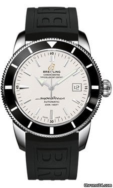 Breitling Superocean Heritage 42 Rubber Strap