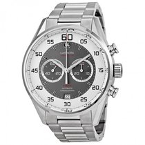 TAG Heuer Carrera 36 Flyback Chronograph Grey Dial Men's