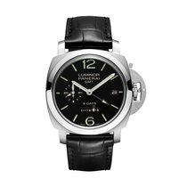 Panerai Luminor 1950 8 Days GMT Acciaio manual winding Mens...
