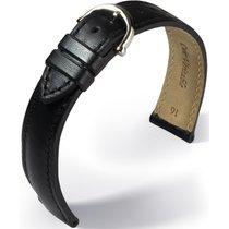 Maurice Lacroix Pontos Elegant Lederarmband schwarz 16mm...