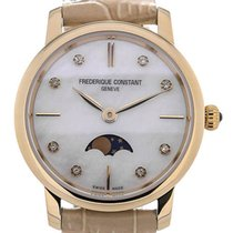 Frederique Constant Slim Line Moonphase Mother of Pearl...