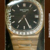 Patek Philippe 5723/1r 18k Rose Gold Nautilus Baguette Diamond...