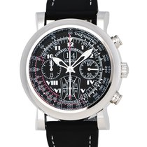 Cuervo y Sobrinos Torpedo Pulsometro Automatic Men's Watch –...