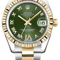 Rolex Watches: 178273  Datejust 31mm - Steel and Gold Ye