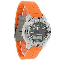 Tissot T-Touch II Carbon Fiber Dial Titanium Watch T047.420.44...