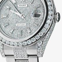Rolex Mens Rolex Diamond Watch Datejust Ii Xl Complete With...