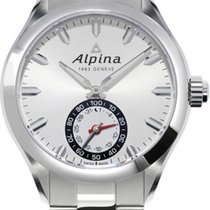 Alpina Geneve Horological Smartwatch AL-285S5AQ6B Herrenarmban...